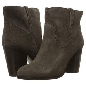 Frye Booties  Suede/ Leather Sz 9.5